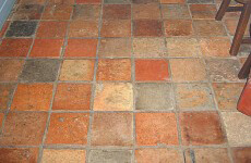 Terracotta tegels onderhouden