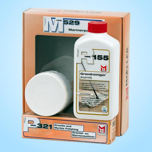 Moeller HMK M529 Marmer Politoer Set