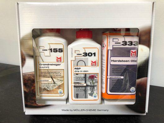 M333 Hardsteenolie Onderhoudsset