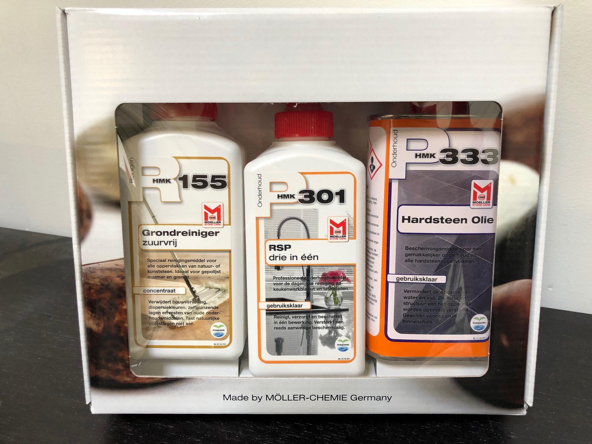 Moeller HMK M333 Hardsteenolie Onderhoudsset
