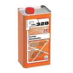 Bescherm poreuze keramische vloeren met de P328 Cotto Wasbeits naturel