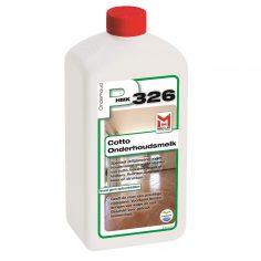 De P326 cotto onderhoudsmelk is een onderhoudsproduct voor uw terracotta vloer