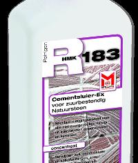 Verwijder cementsluiert en kalkafzettingen van zuurbestendige oppervlakken met de R183 Cementsluier EX